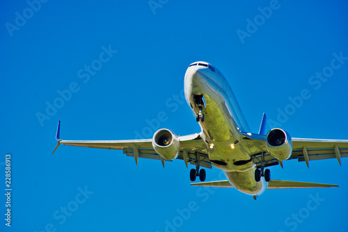 Boeing 737 MAX - Aviation Industry - Larger Civilian Jet Aircraft Take Off - For Canvas Print