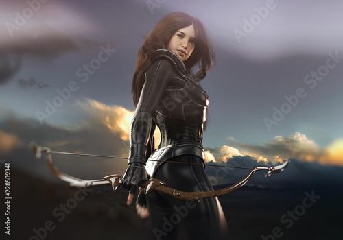 Fényképezés archer woman