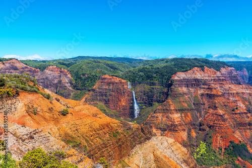 Obraz na plátne Amazing Waimea canyon in Kauai, Hawaii islands