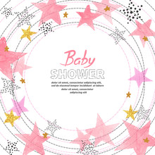 Baby Shower Girl Invitation Ca...