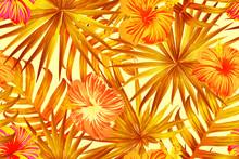 Orange Exotic Pattern.