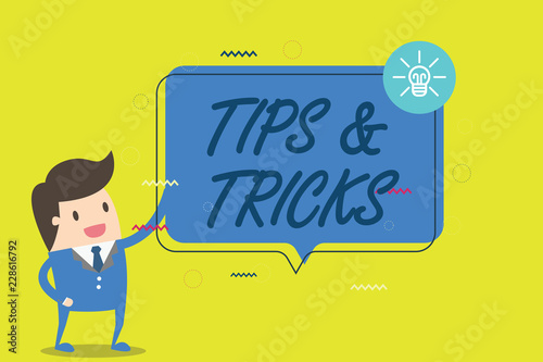 Handwriting text writing Trips and Tricks  Concept meaning
