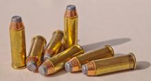 Seven 44 Magnum Bullets Shown ...