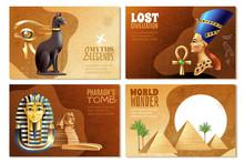 Egypt Banners Set