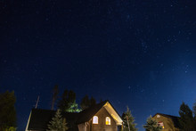 Stars With House In Yellowstone