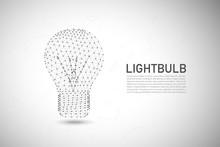 Polygonal Light Bulb