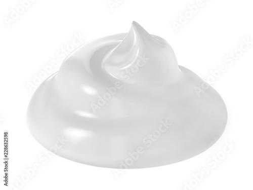 Fotografie, Obraz  cosmetic cream isolated