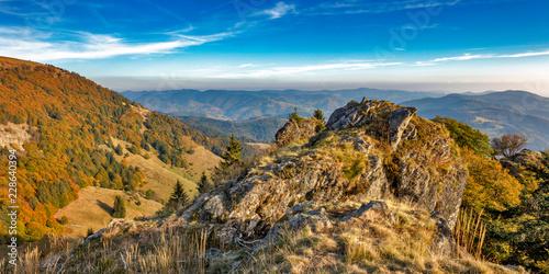 Fototapeta  Blick vom Belchen auf den Schwarzwald