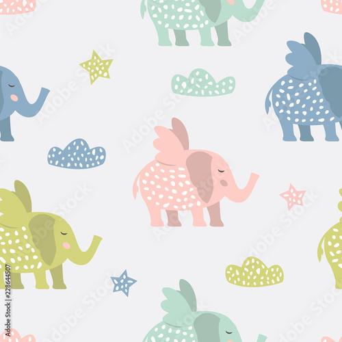 dziecinny-wzor-z-slodkie-slonie-kreatywna-tekstura-dla-tkaniny