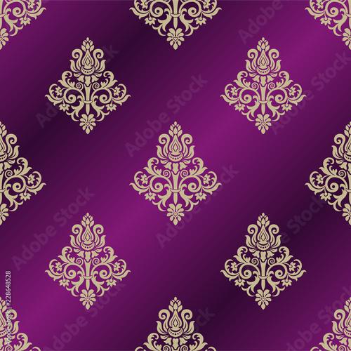 vector-vintage-floral-seamless-pattern-element-vector-damask-seamless-pattern-background