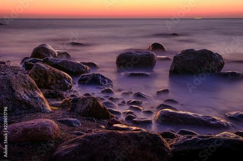 Fototapety, obrazy: Sonnenaufgang am Meer