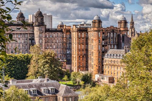 Glasgow Royal Infirmary, designed by Robert and James Adam, Glasgow, Scotland