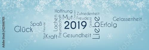 Photographie  2019 Wort-Wolke - Schnee Winter