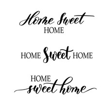Home Sweet Home - Hand Drawn S...