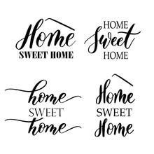 Home Sweet Home - Hand Drawn S...