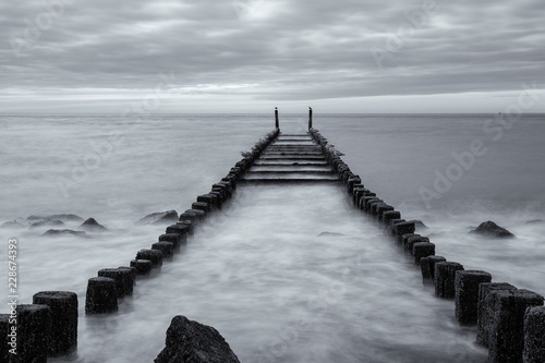 pier on the sea