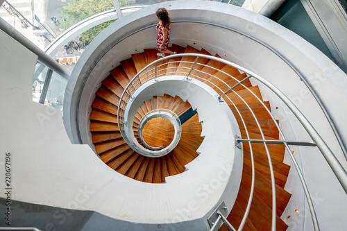 Papiers peints Spirale Spiral staircases paris