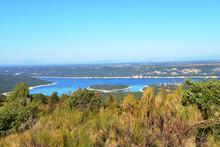 Lac De Sainte-Croix. Gorges Du Verdon. Var. Alpes-de-Haute-Provence. France.