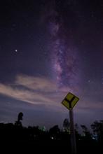 Milky Way Galaxy Look Up Verti...