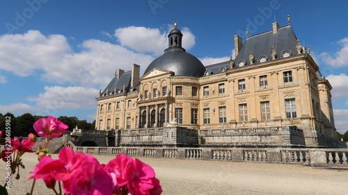 Foto op Plexiglas Historisch geb. Château de Vaux-le-Vicomte en Seine-et-Marne, région parisienne (France)