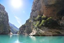 Gorges Du Verdon Canyon. Lac D...