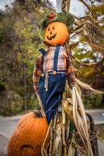 Happy Smiling Halloween Scarec...