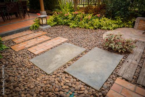 Foto  decorative garden