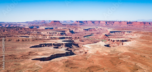 Valokuva Green River Overlook Canyon Lands National park in Utah United States of America