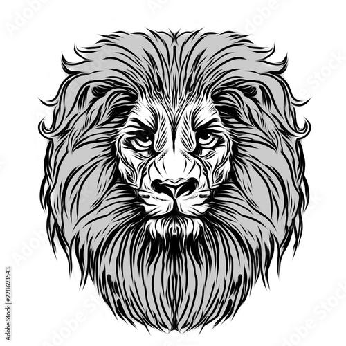 тату дикого тигра