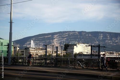 Photo  Switzerland. Geneva. Street 5