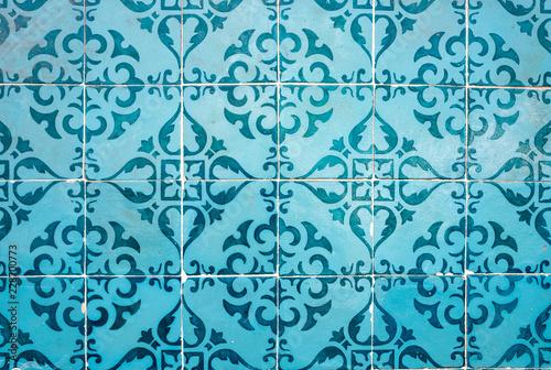 Photo  Portuguese ceramic tiles