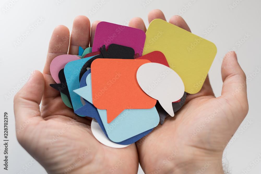Fototapeta communication
