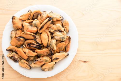 Tasty mussels without hood