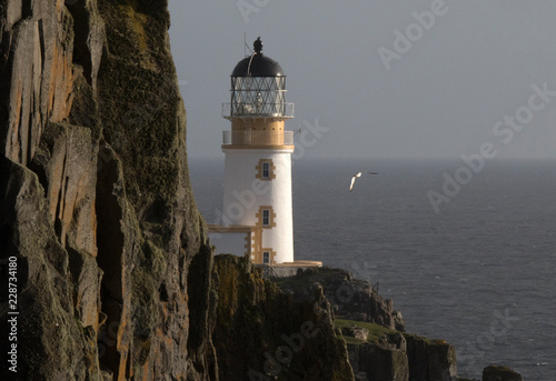 Neist point lighthouse, Isle of Skye, Scotland