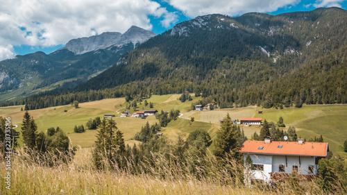 Beautiful alpine view at Steinberg near the Achensee - Tyrol - Austria