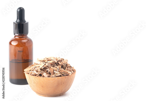 Photo  The Herb Willow Bark is Found in Nature and Used Medicinally for Various Ailment