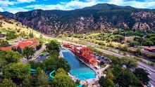 Aerial Hot Springs Glenwood Sp...