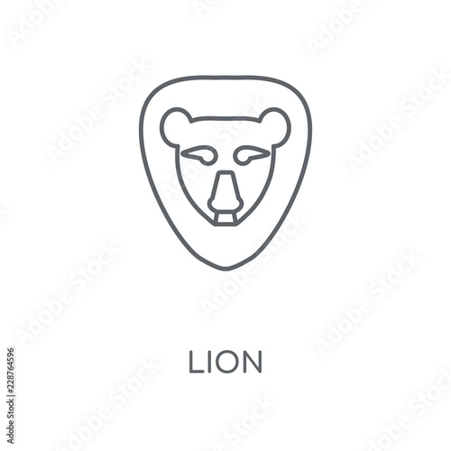 Photo  lion icon