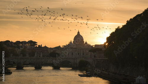 Fotografia, Obraz Vatican St. Peter's Basilica of the Vatican city State