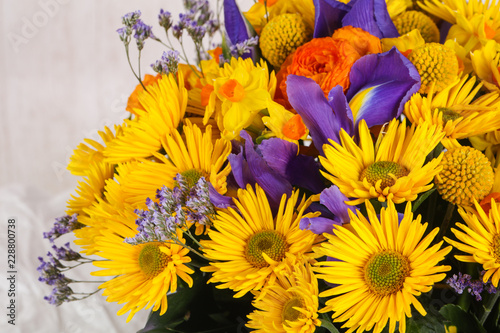 Fototapety, obrazy: Romance flower bouquet
