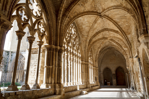 The Cathedral of St. Mary of La Seu Vella, in Lleida, Catalonia, Spain