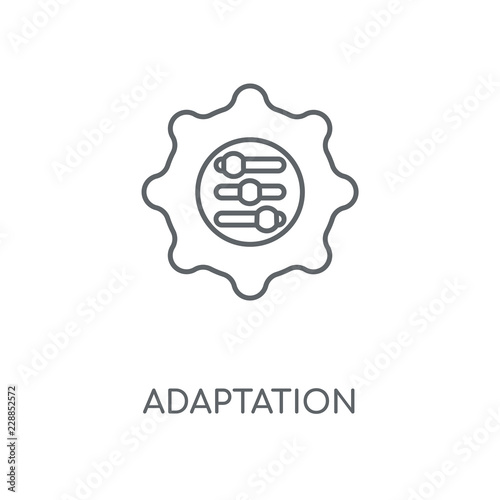 adaptation icon Wallpaper Mural