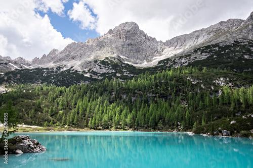Photo Stands Lago di Sorapis
