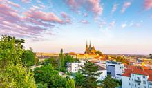 Brno, Czech Republic: Sunset O...