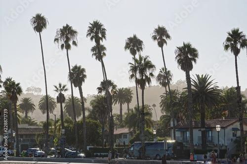 In de dag Los Angeles Santa Barbara in Kaliforinen