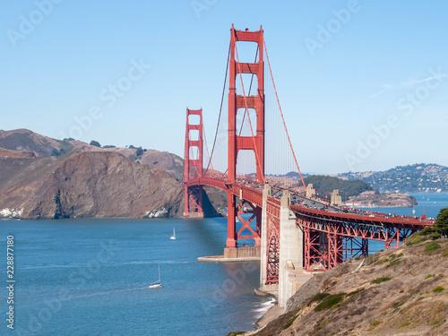 Photo  Golden Gate Bridge - San Francisco, California