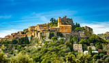Landscape of historical medieval village of Eze on French riviera