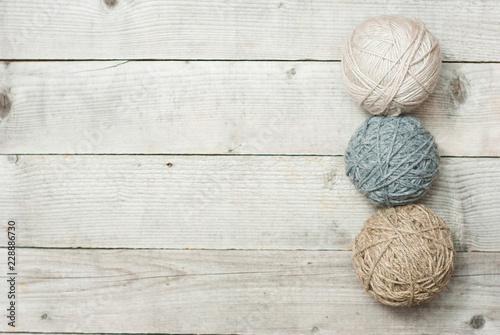 Fototapeta Balls of wool