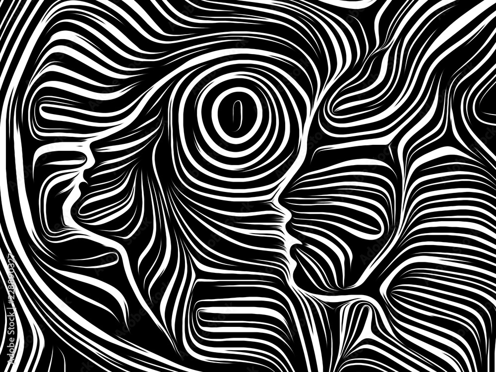 Fototapeta Synergies of Inner Lines