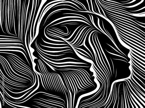 Fotografie, Obraz  Energy of Inner Lines